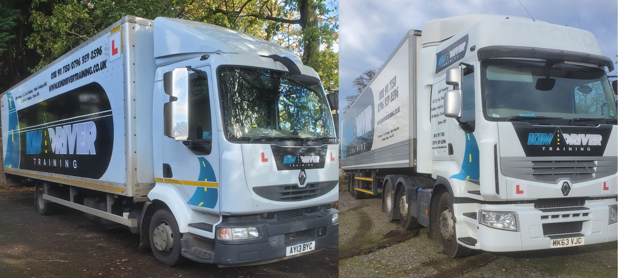 Learn to drive a HGV in Berks