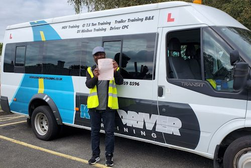 Pass with Kim driver training