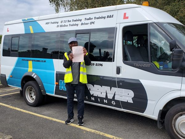 Learn to drive a minibus in the south east