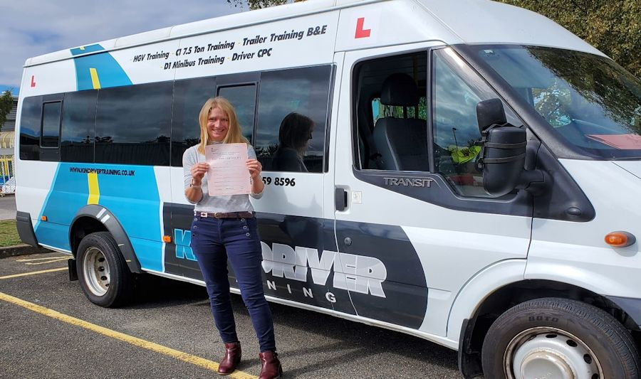 Pass your minibus driving test